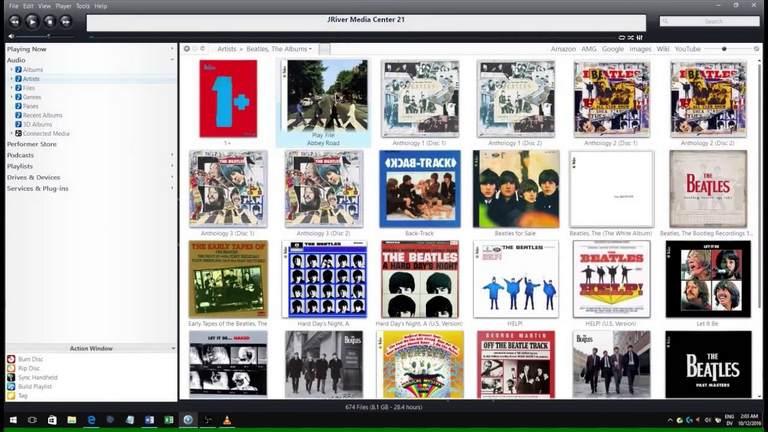JRiver media center iTunes Alternatives