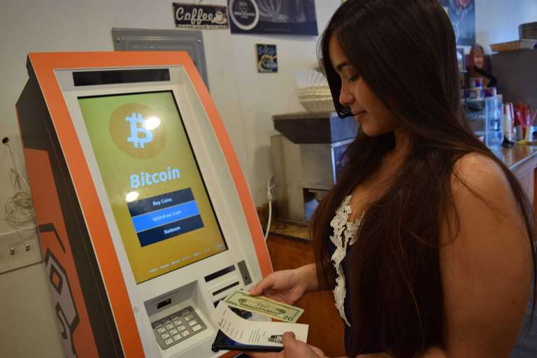 Sale of cryptocurrencies through Bitcoin ATMs
