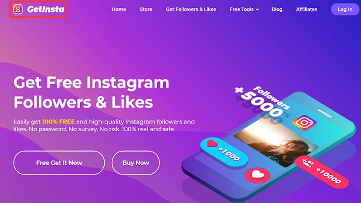 GetInsta - Instagram Followers App to Attract Real Instagram Followers