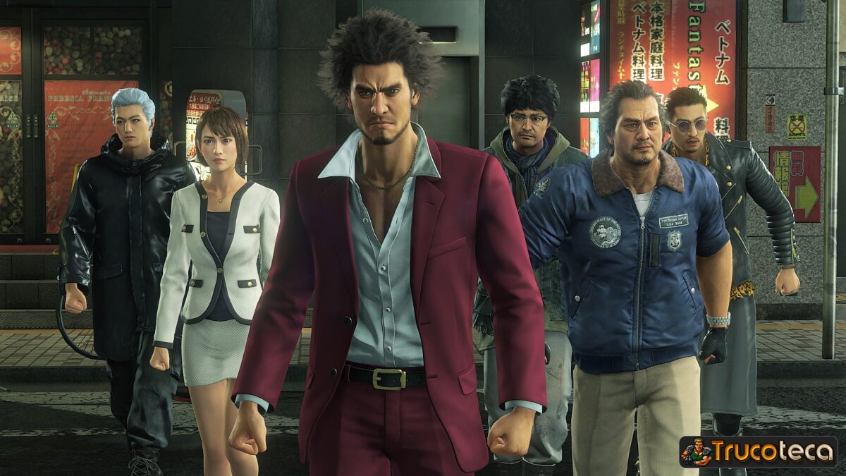 Yakuza: Like a Dragon will be seen at 4K and 30 frames per second on PS5