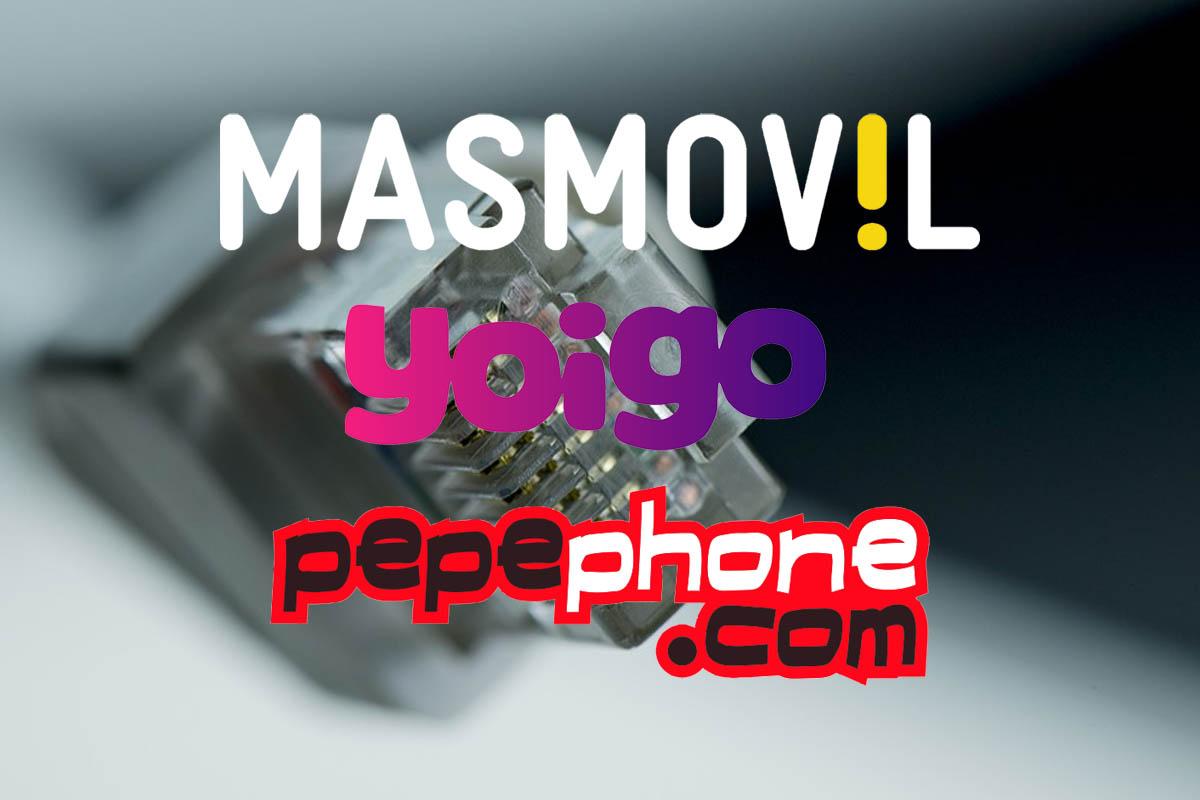 Pepephone, Yoigo and MásMóvil go down, Internet and data don't work