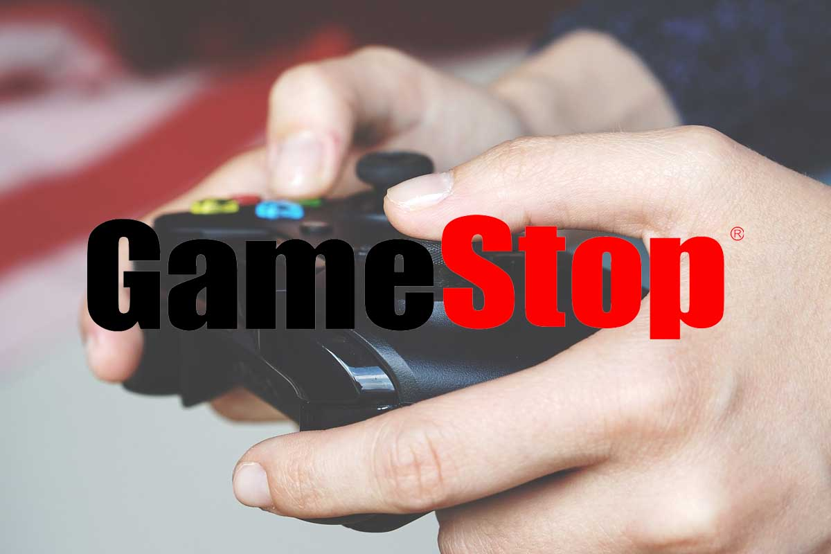 How much money would you have if you had invested 1,000 euros in Gamestop a month ago