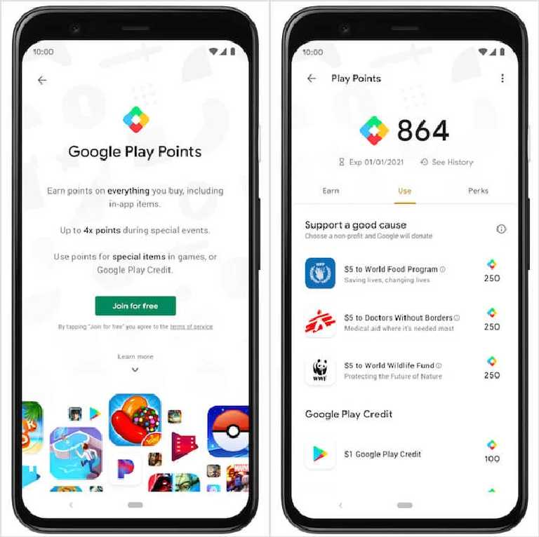 What are Google Play Points, why you need and how does it work?