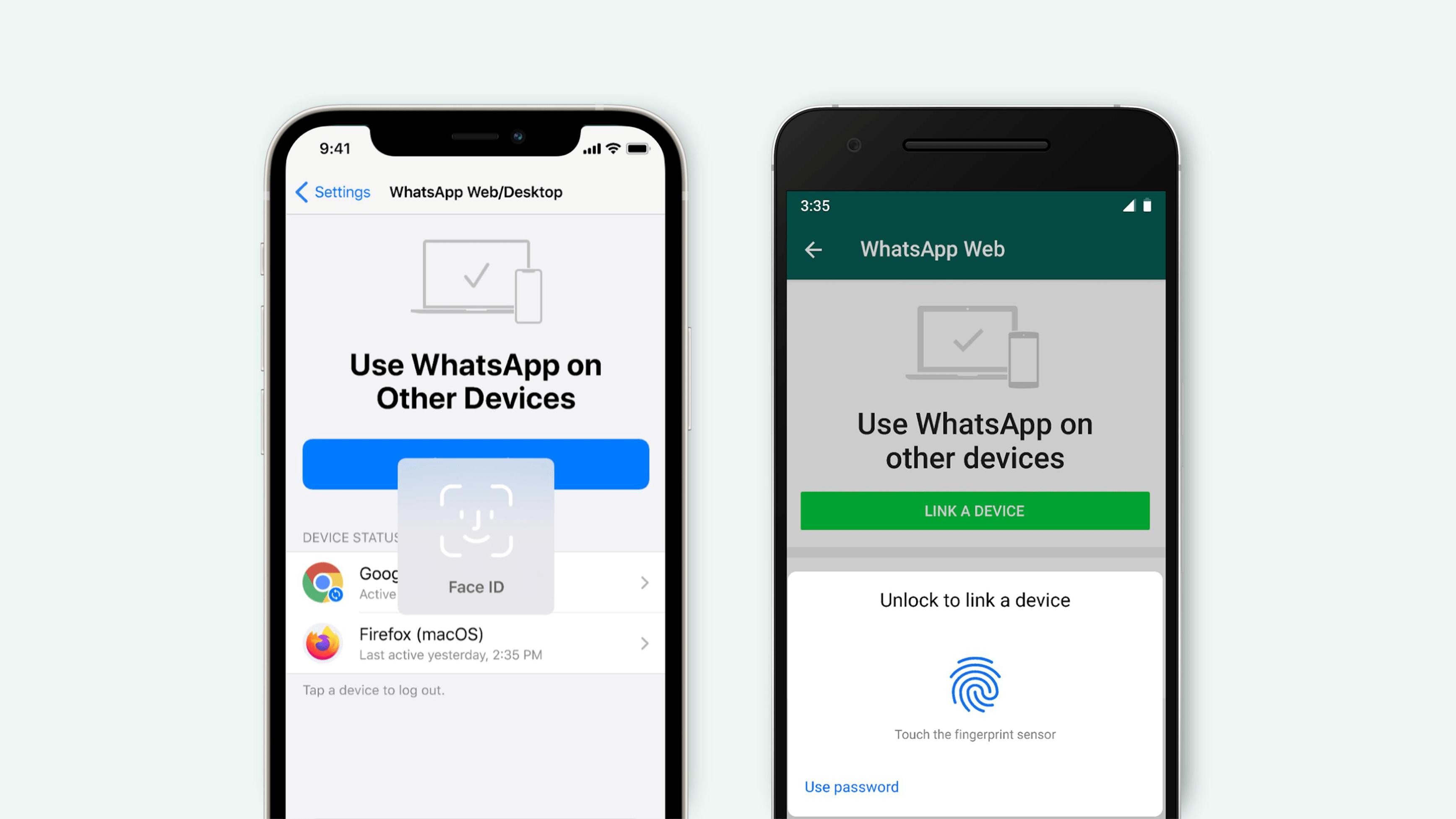 WhatsApp agrega seguridad biométrica en sus aplicaciones web y de escritorio. Aplicaciones Android