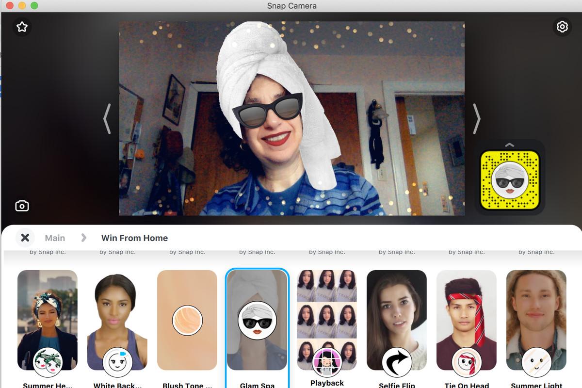 Cómo usar Snap Camera para convertirte en cualquier cosa en Zoom. Aplicaciones Android