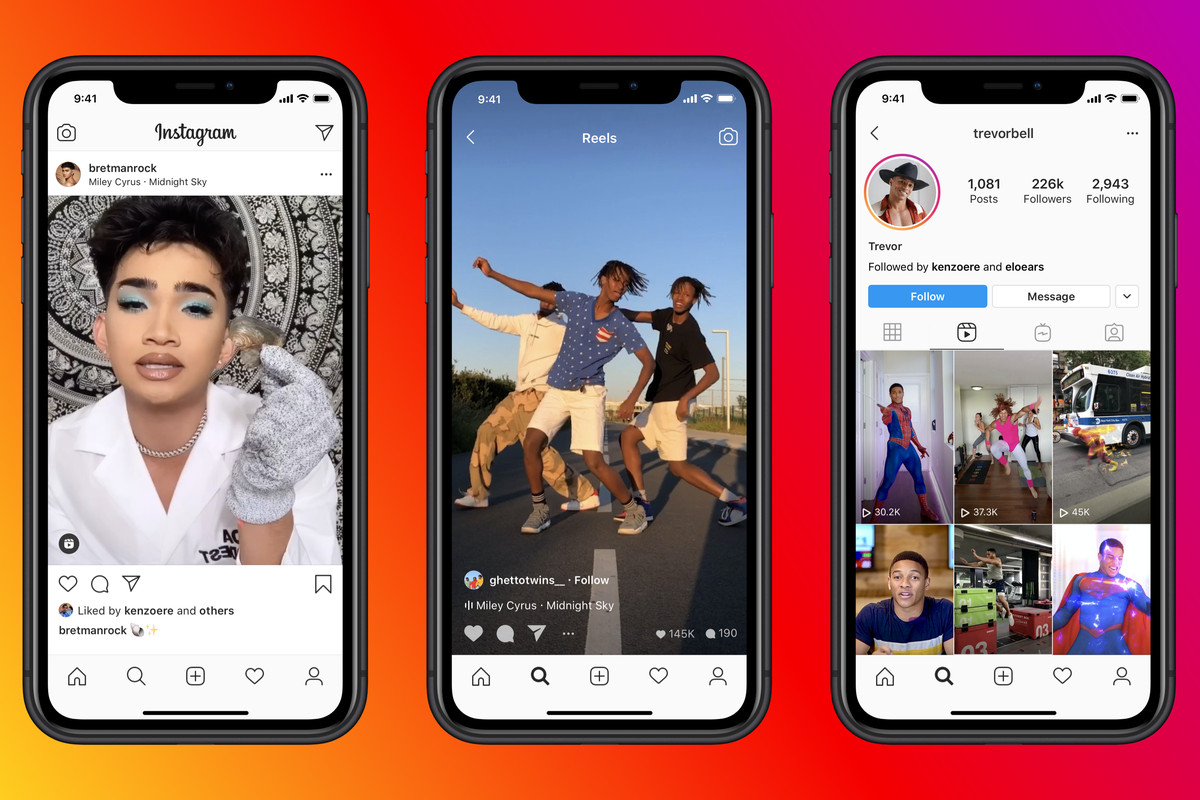 Algoritmo de Instagram no promoverá los reels que tengan una marca de agua de TikTok