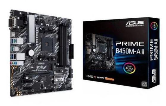 Asus PRIME B450M A II board