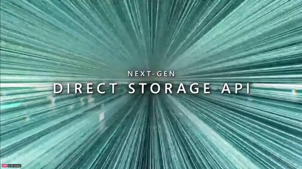 Windows 11 - Direct Storage API