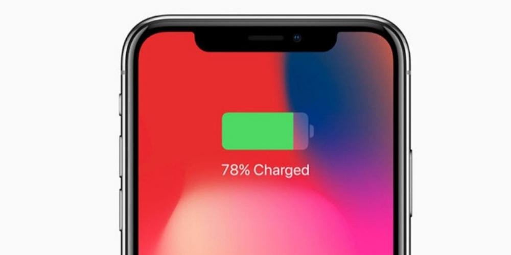 iPhone charging battery