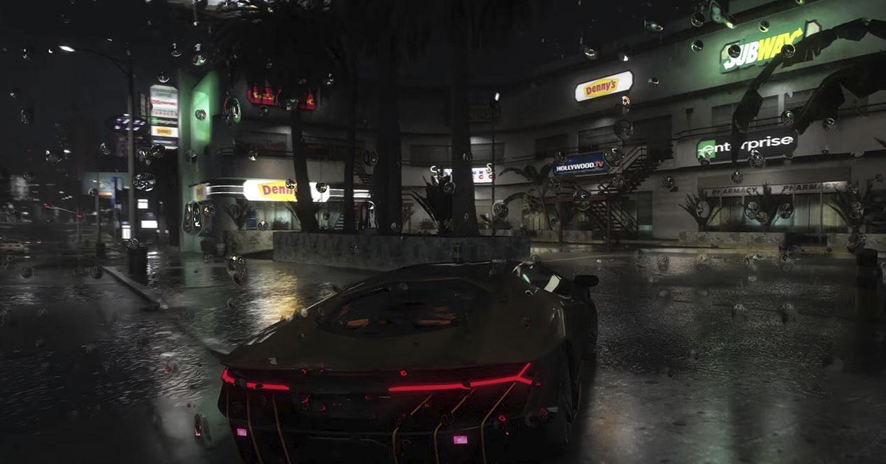 GTA V Ray Tracing