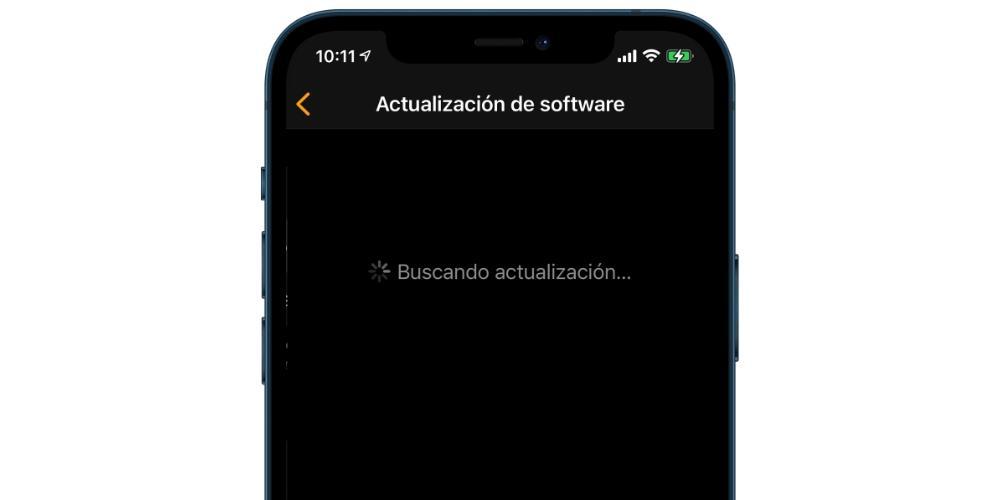 Looking for iPhone watchOS Update