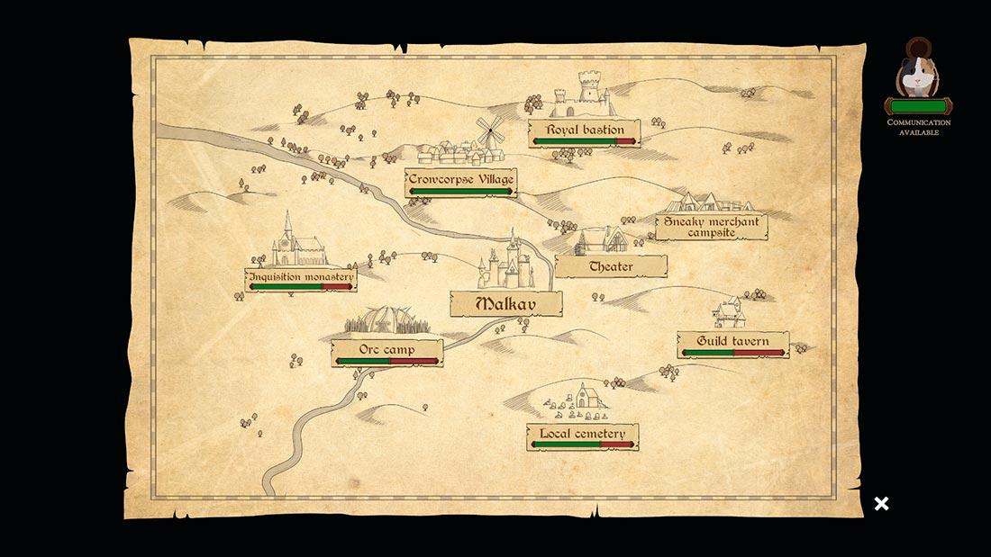 Wildermyth screenshot maps