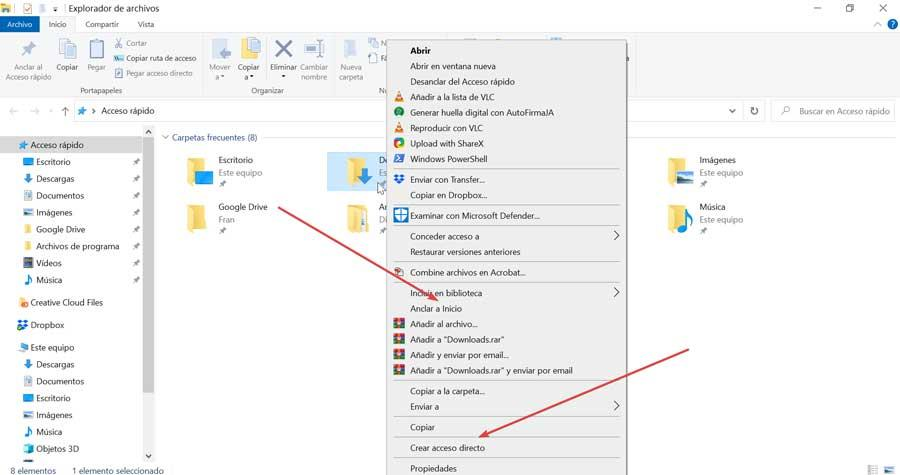 Create shortcut and pin Start menu
