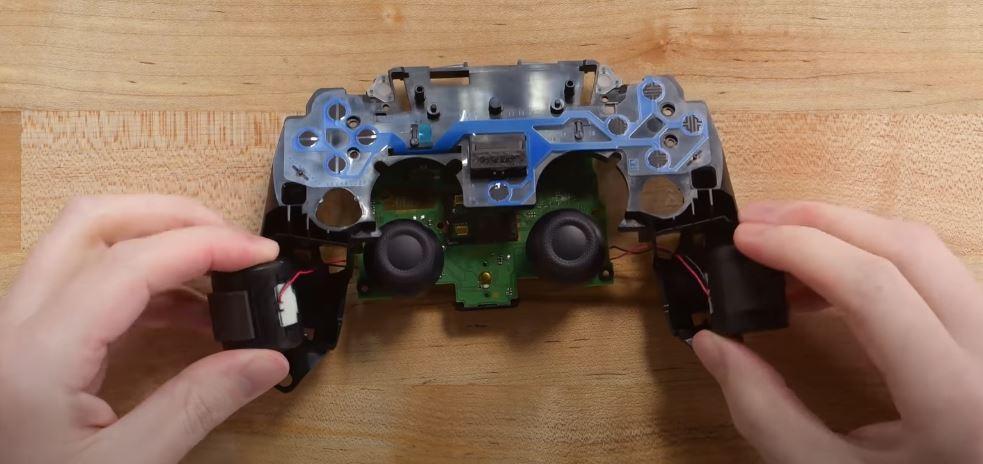 PS5 controller vibrators