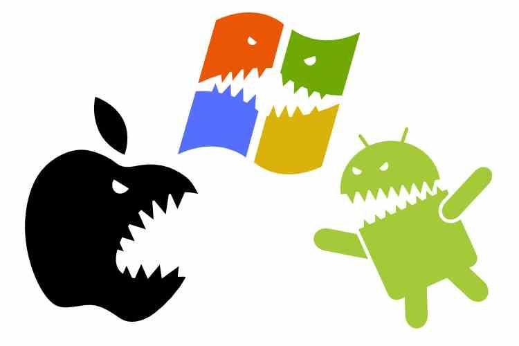 Apple Windows Android