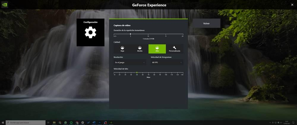 NVIDIA GeForce Experience Instant Replay and Recording Options