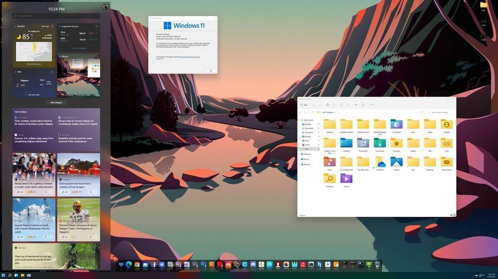 Windows OSX 11