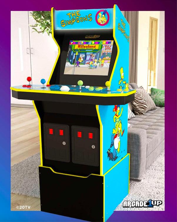 Simpson arcade 1 up