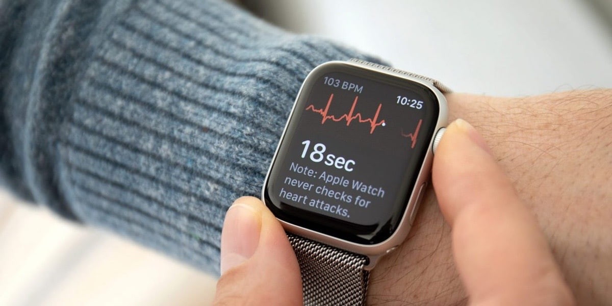 The ECG function of the Apple Watch saves a life in Euriopa