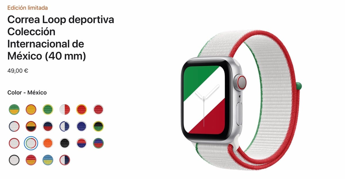 Apple Watch strap international collection