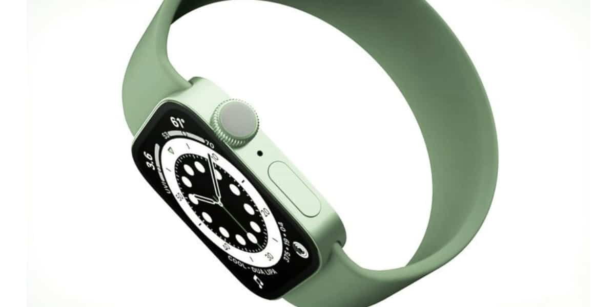 Green Apple Watch