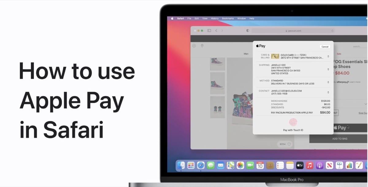 Apple Pay Safari