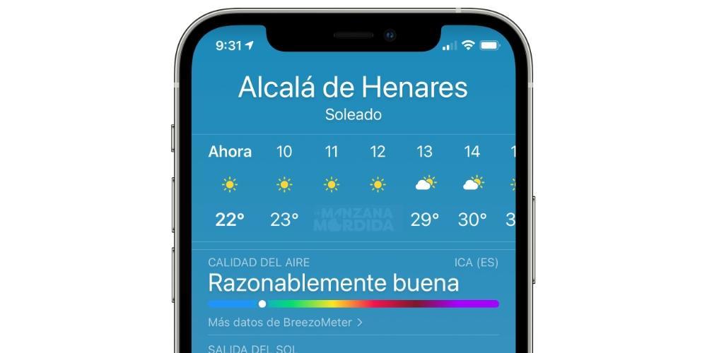 air quality iphone ios 14.7
