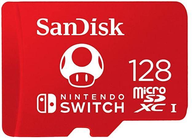 SanDisk microSDXC for Nintendo Switch 128GB