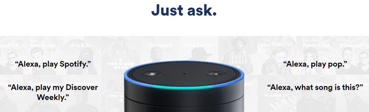 Spotify Alexa