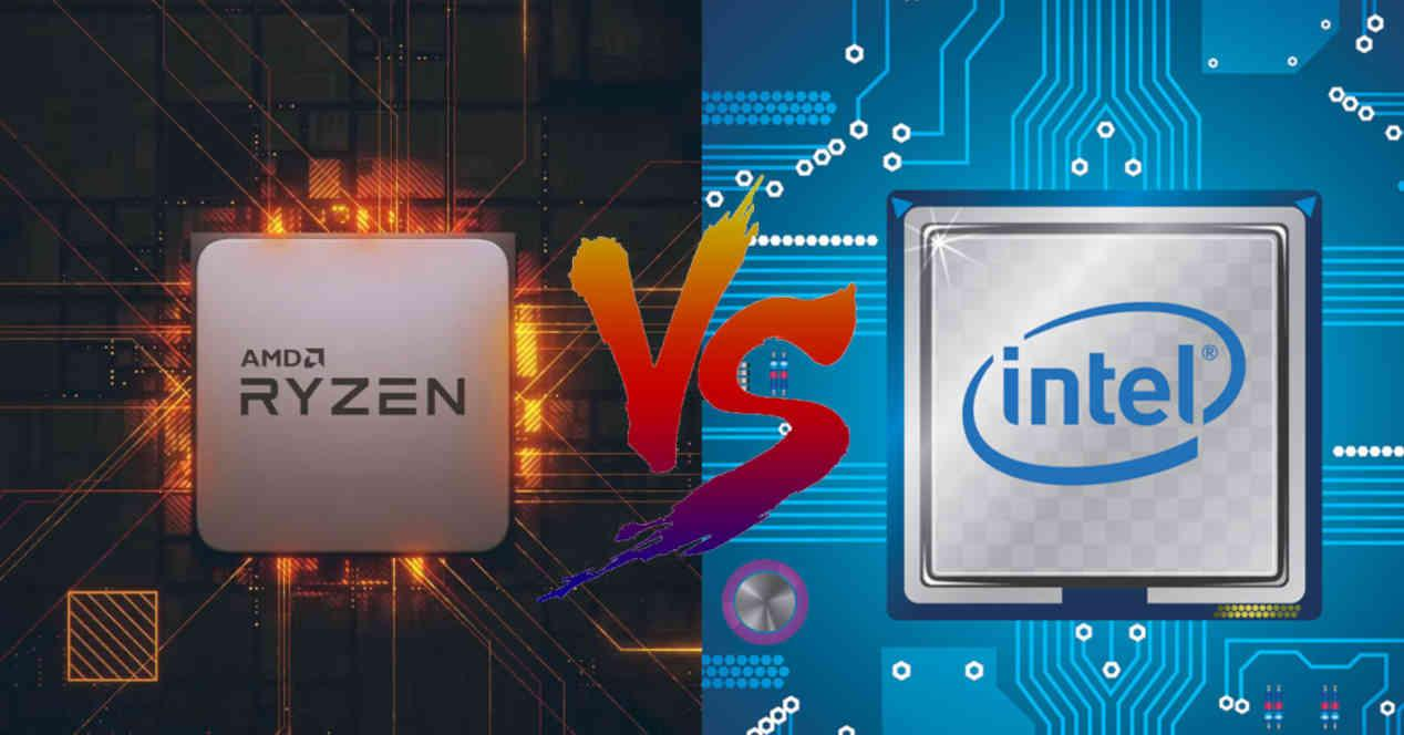 Intel AMD CPU