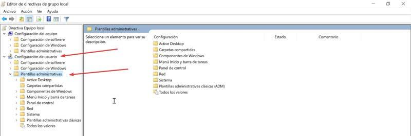 Local Group Policy Editor Administrative Templates