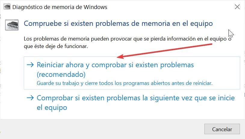 Use Windows Memory Diagnostics