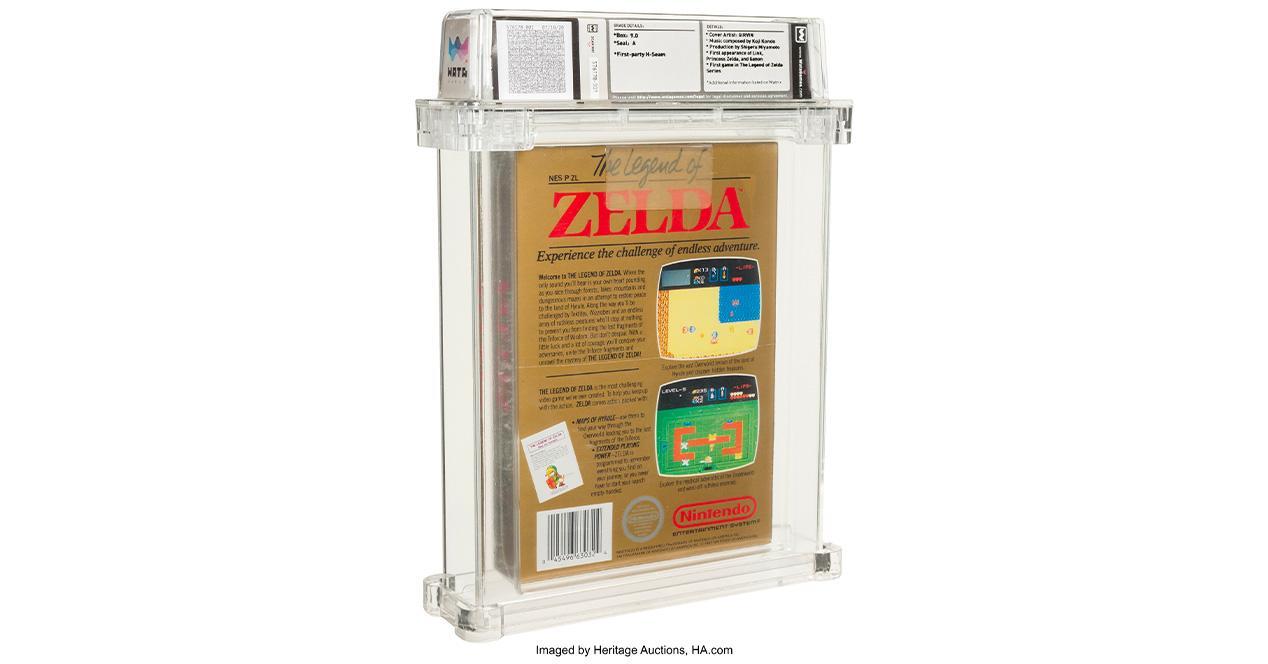 Zelda NES auction