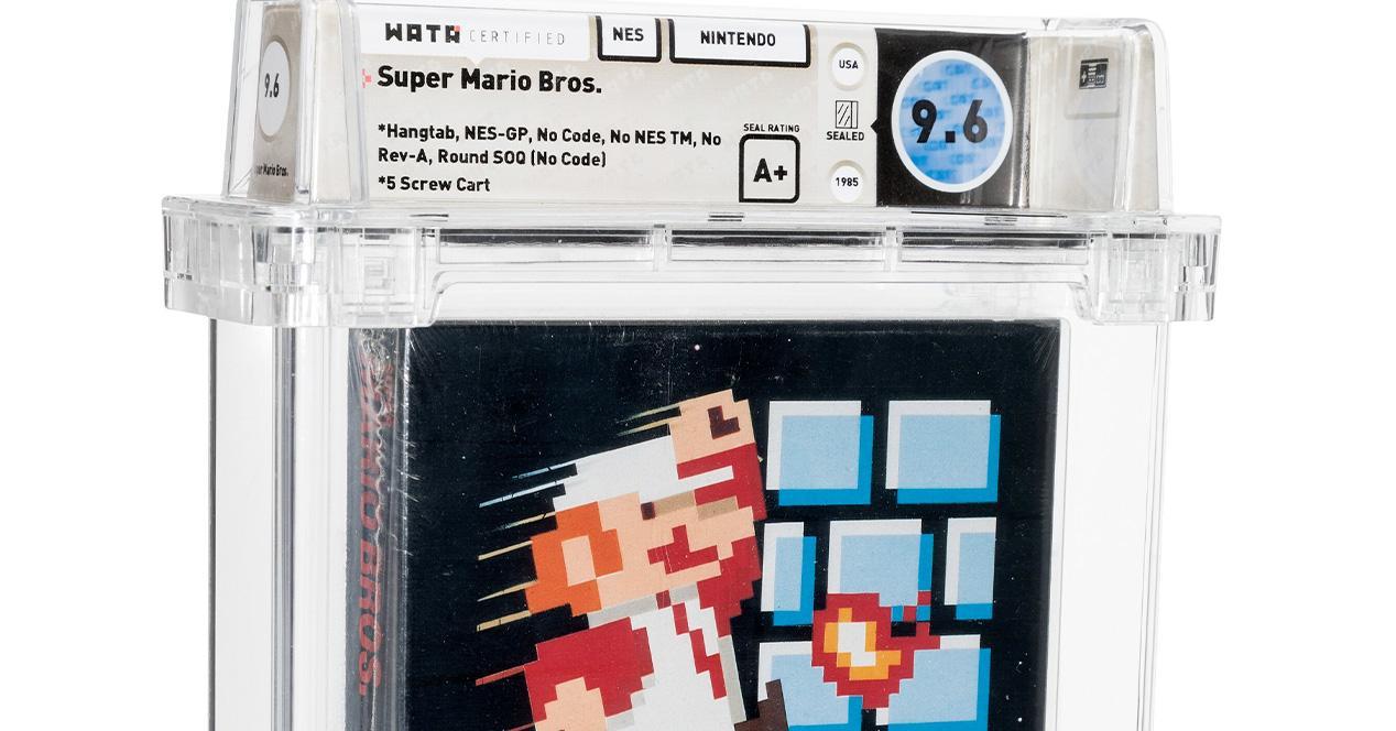 NES Super Mario Cartridge