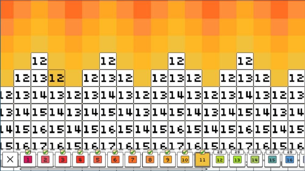 colors pixels
