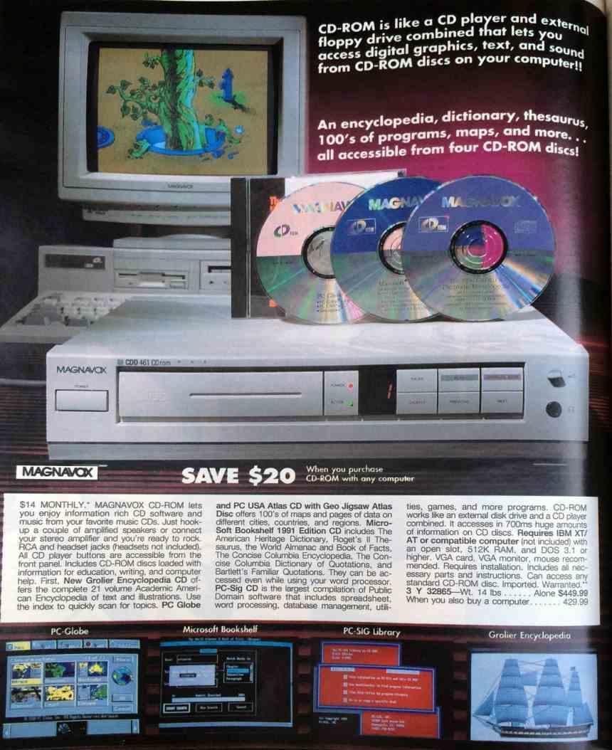 Magnavox Announcement CD-ROM