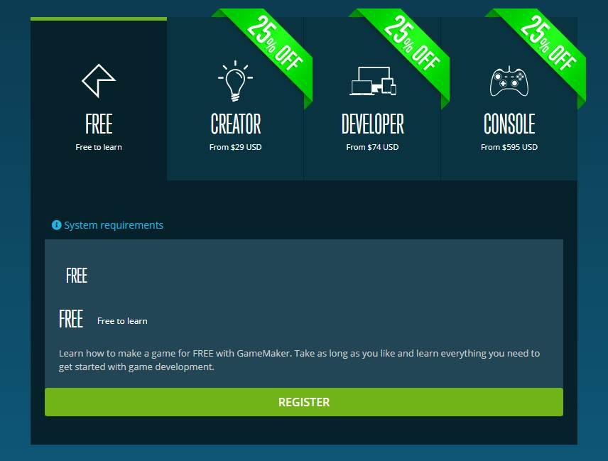 GameMaker Studio 2 free download