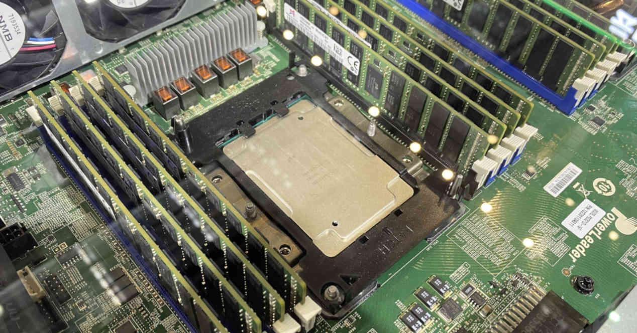 CPU RAM PC board