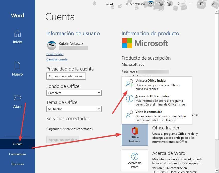 Office - Enter Beta Program