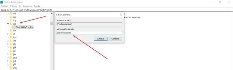 Registry Editor uninstalls ISO tools