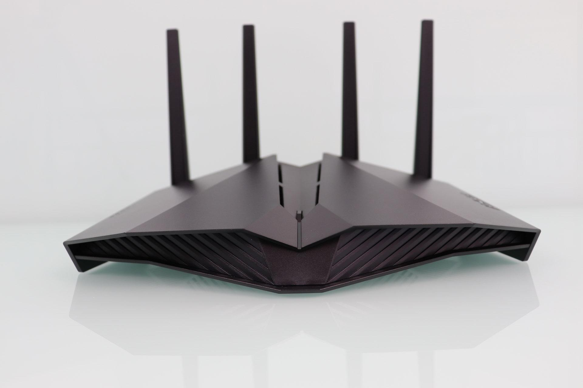 Front of the neutral router ASUS RT-AX82U