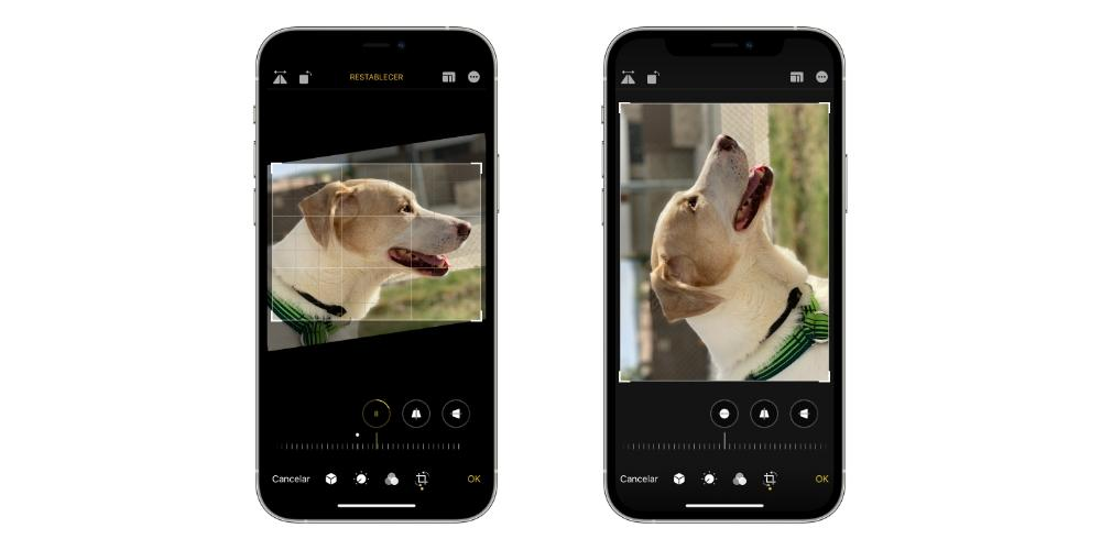 crop photos iphone