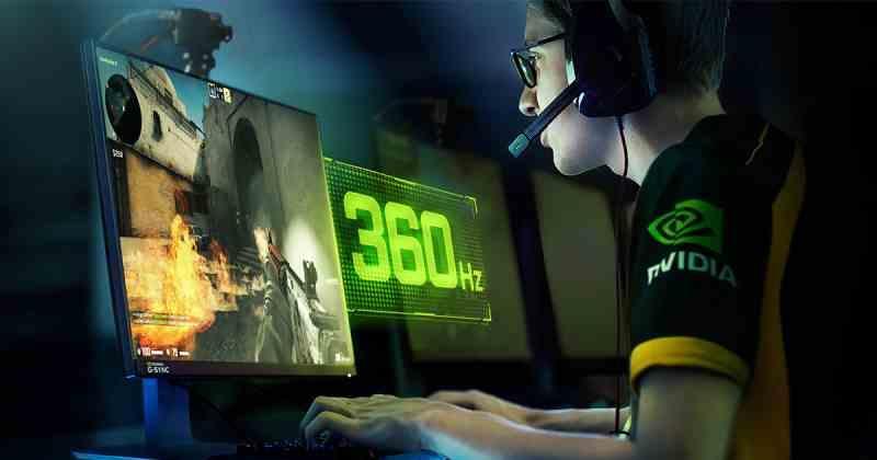 Response time 360 Hz
