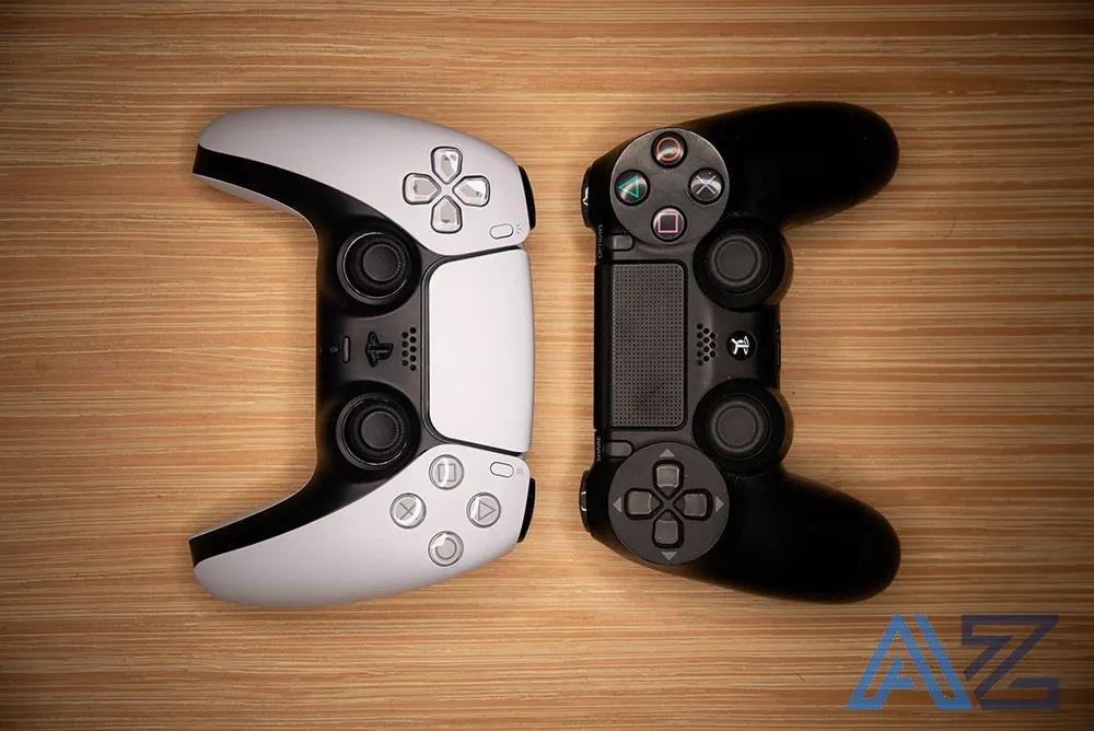 Controller PS5 vs PS4