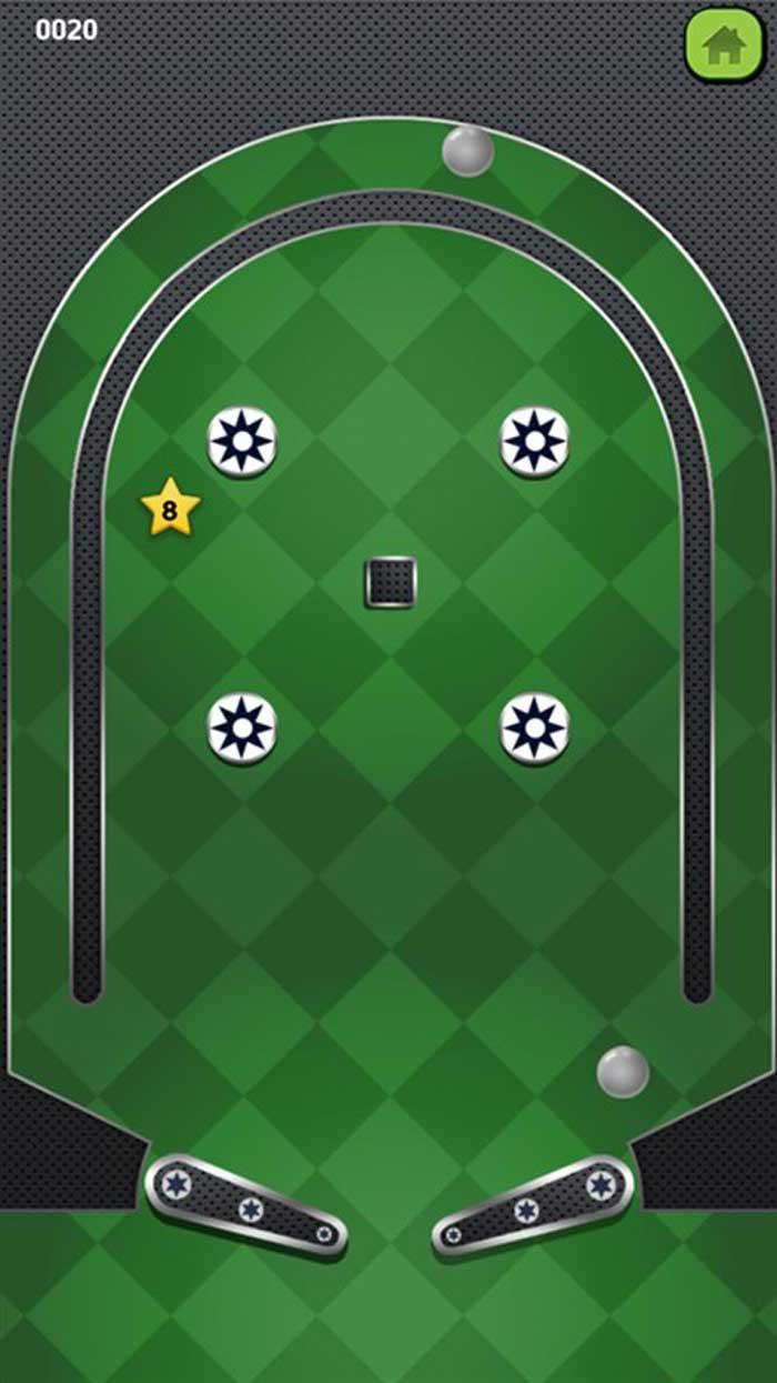 Pinball shooter