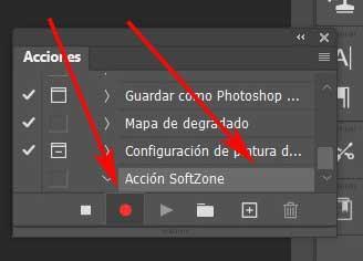 Action softzone Photoshop
