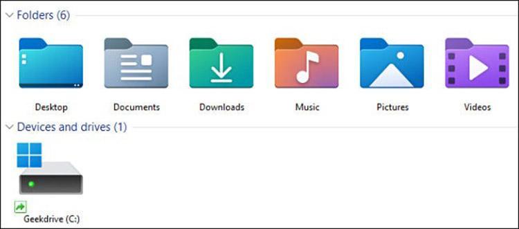 New Windows 11 Folder Icons