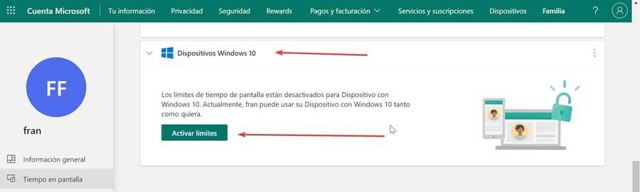 Activate Windows 10 device limits