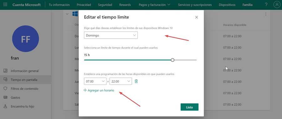 Edit time limit