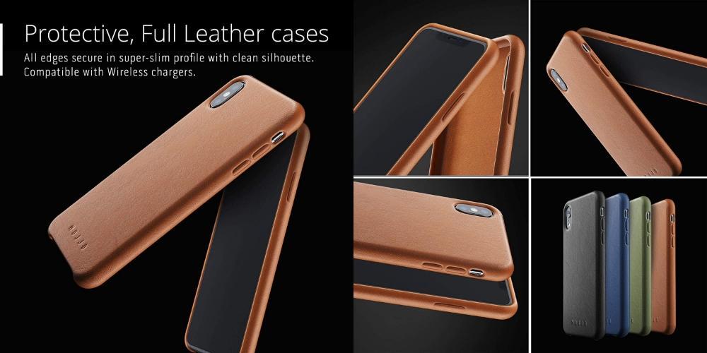 Mujjo leather case